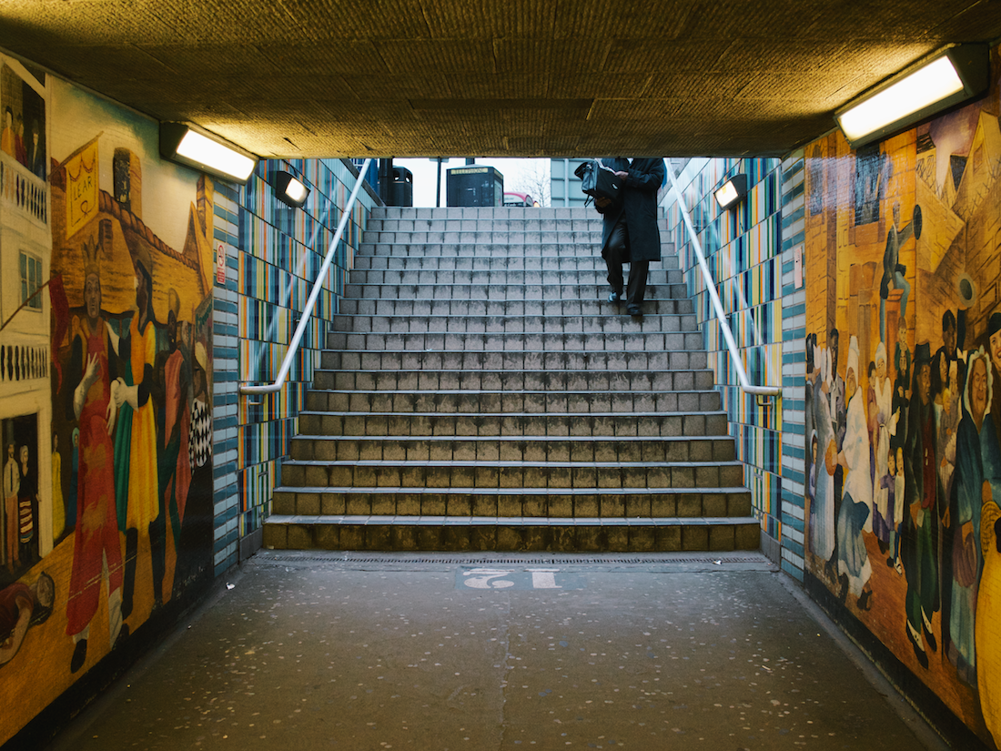 rx1 - underpass by elephant and castle
